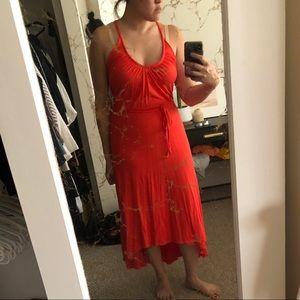 AG Medium Red Dress NWT